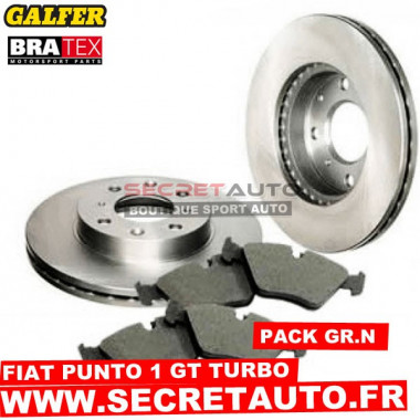 Pack freinage Groupe N pour Fiat Punto 1 GT Turbo.