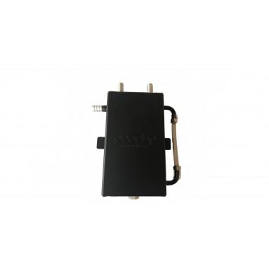 Récupérateur d'huile OBP 1 litre noir mat sortie lisse 13 mm