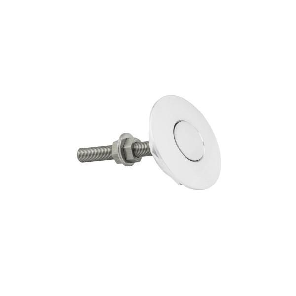Attache capot push clip en aluminium