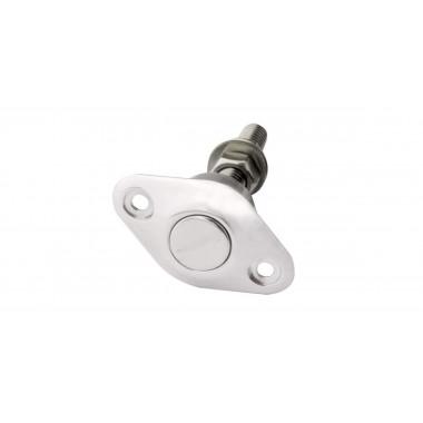 Attache capot Z clip en aluminium