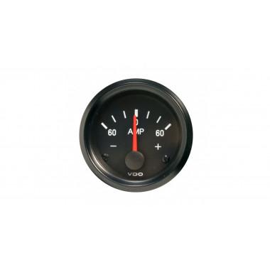 Manomètre VDO Ampèremètre 60 A