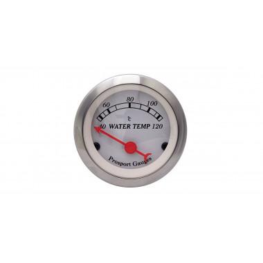 Manomètre de température d'eau Prosport Classic électrique référence CT-TE-003-BL