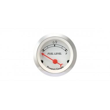 Manomètre Niveau d'essence Prosport Classic électrique référence CT-CARB-BL