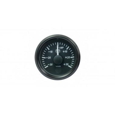 Manomètre ampèremètre VDO Singleviu -30A +30A