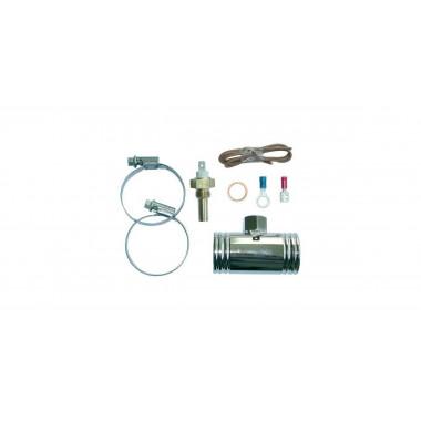 Kit complet montage sonde température d'eau VDO sur durite silicone référence V-003011