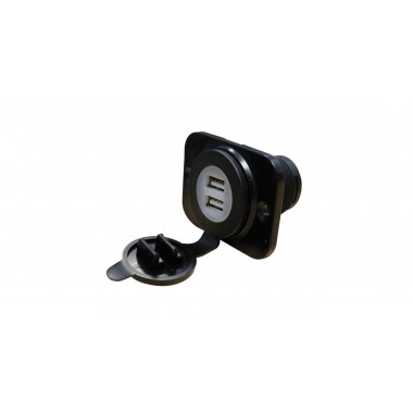 Prise USB double voiture de rallye - GT2i