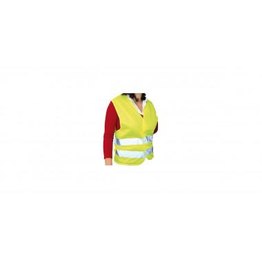 Gilet de sécurité jaune homologué CEE