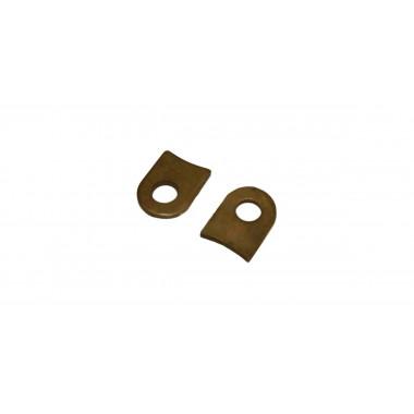 Plaque de fixation pour cornet à emmancher