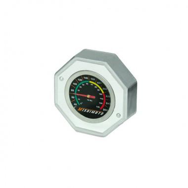 Bouchon de radiateur Mishimoto avec affichage température - 1.3 bars. Pour collerette petit modèle.
