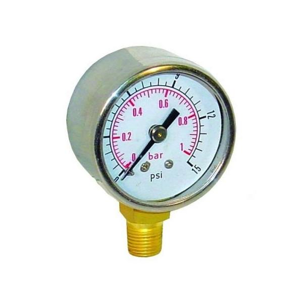 Manomètre de pression d'essence King pour régulateur de pression King.