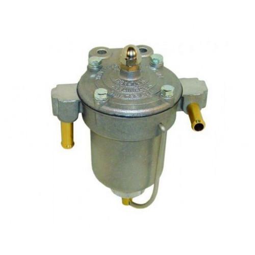 Régulateur de pression d'essence King 67 mm pour Carburateur. Modèle avec bocal en alu.