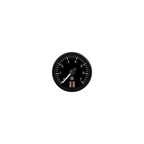 Manomètre Stack Pro électrique  pour pression d'huile de 0 à 7bars