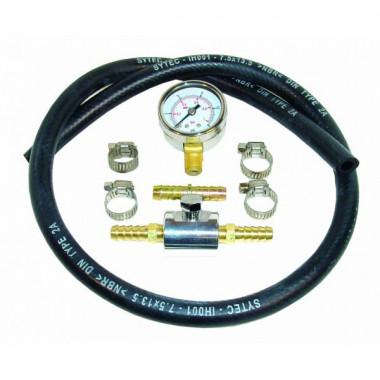 Kit test de pression d'essence de 0 à 1 bar.