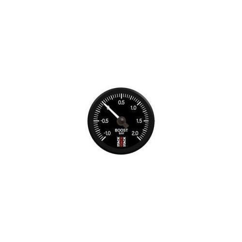 Manomètre électrique Stack professionnel de pression de turbo - 1 à 2 bars