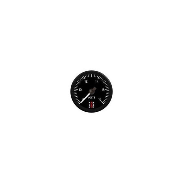 Manomètre voltmètre Stack électrique professionnel de 8 à 18 volts