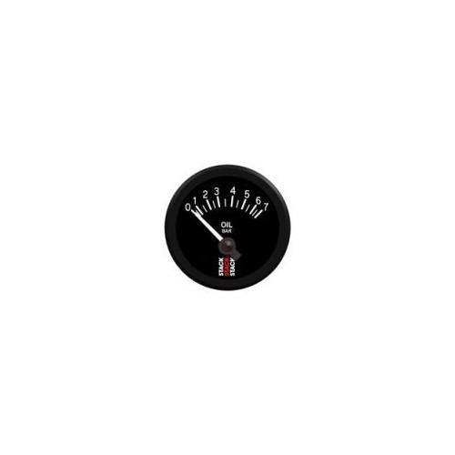 Manomètre Stack électrique pour pression d'huile de 0 à 7 bars