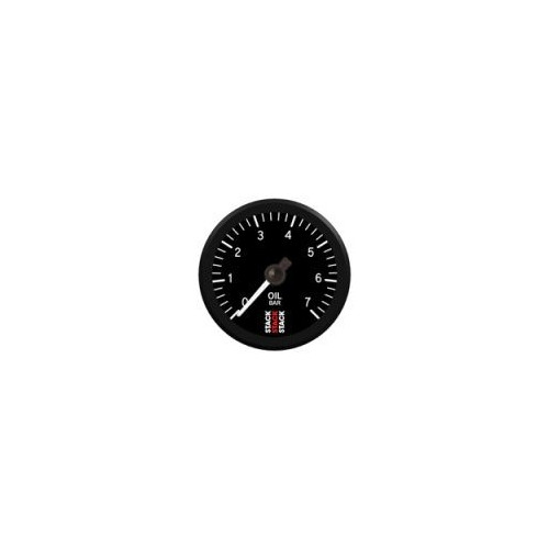 Manomètre Stack mécanique pour pression d'huile de 0 à 7 bars