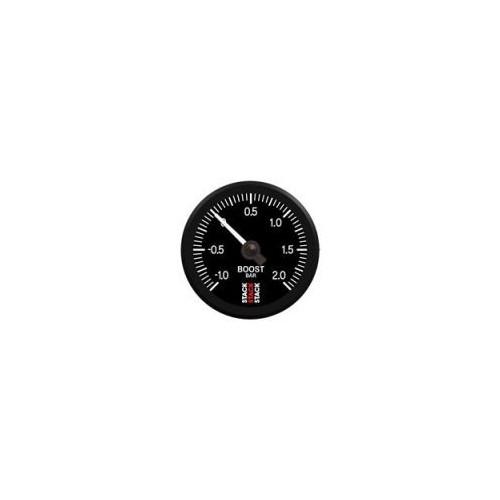 Manomètre Stack mécanique - pression de turbo - 1 à 2 bars