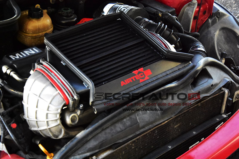 Installation échangeur Airtec Mini Cooper S R53