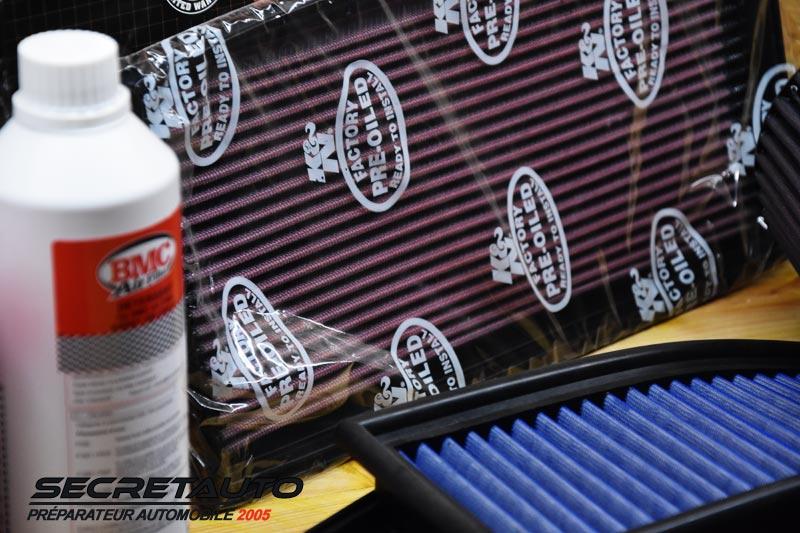 Entretenir son filtre à air sport coton
