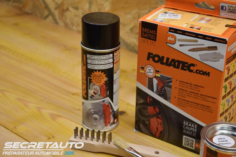 Kit peinture Foliatec