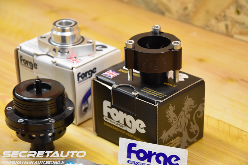 Adaptateur Forge Motorsport blow off en stock