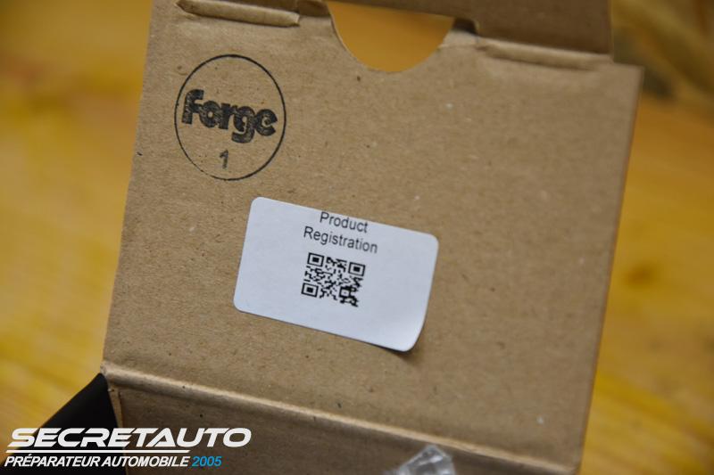 Produit officiel Forge Motorsport