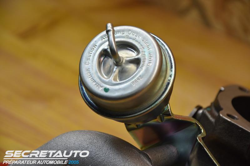 Wastegate turbo garrett k04-001
