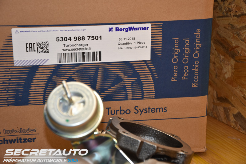 Turbo Garrett K04-001 pour convertion