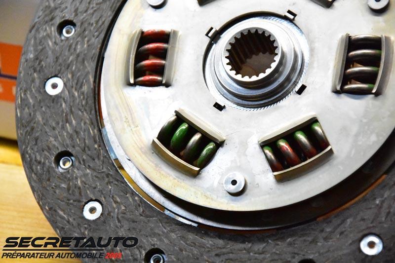 Languettes d'amortissement disque métal fritté amorti Helix