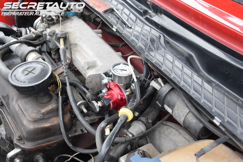 Montage régulateur d'essence dans une golf 2 gti