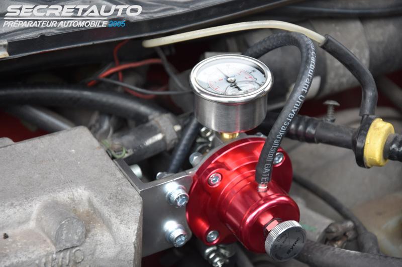 Installation régulateur essence sytec dans une golf 2 gti