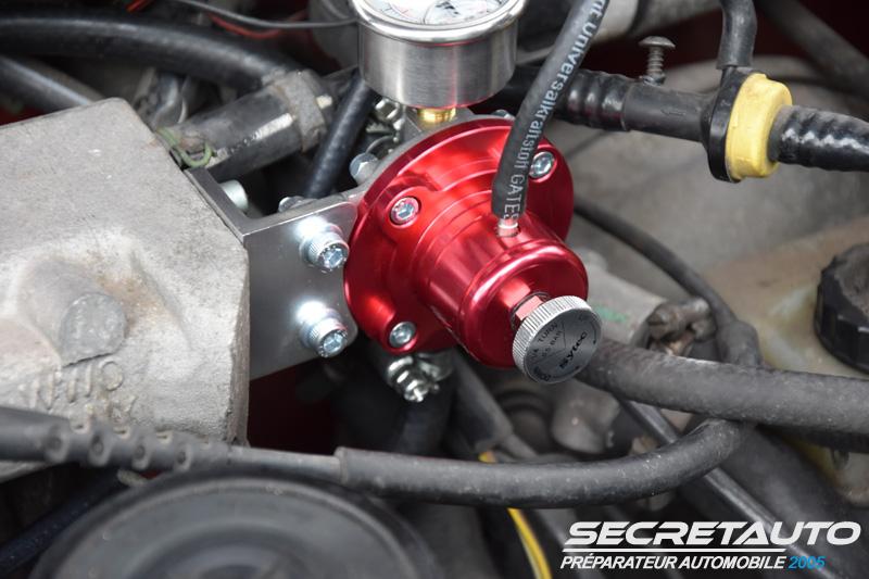 Régler la pression d'essence à l'aide d'un régulateur Sytec Golf 2
