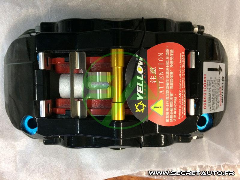 Étrier de frein 6 pistons Yellow Speed Racing