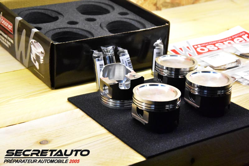 Pistons forgés Wossner Golf 2 G60 8 soupapes