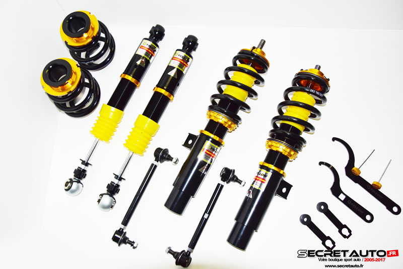 Kit combiné fileté Yellow Speed dynamic prosport avec jambe réglable audi s3 8l 20vt