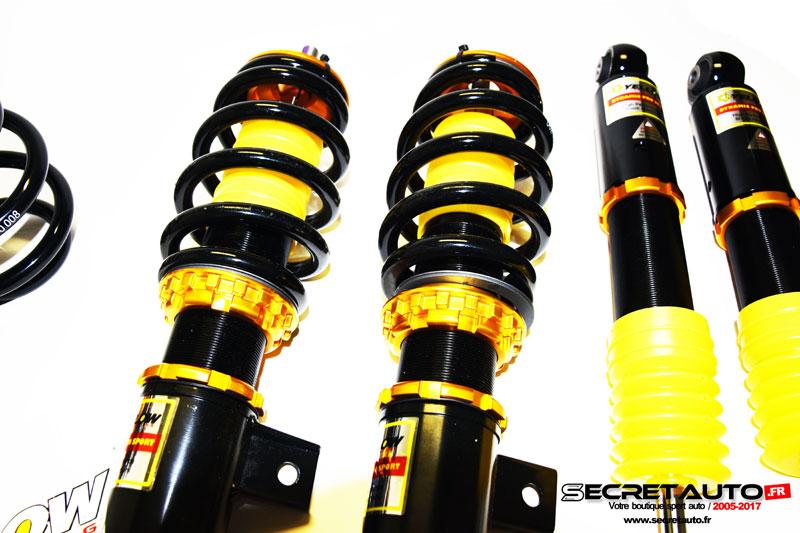 Jambes avant filetées Yellow Speed Racing Audi S3 8L