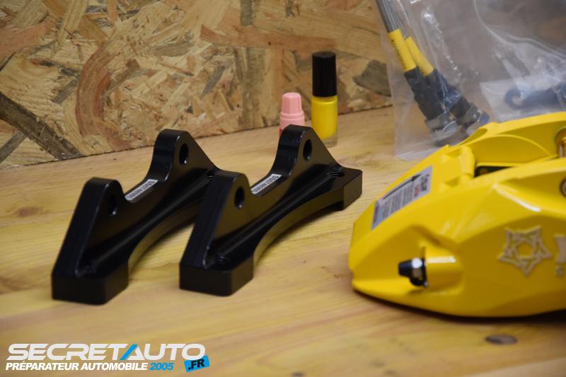 Support fixation kit gros frein