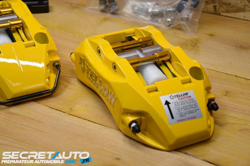 Étrier gros frein Audi TT 8N 1.8T 180cv