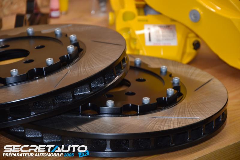 Kit gros frein Yellow Speed Raccing 320x32