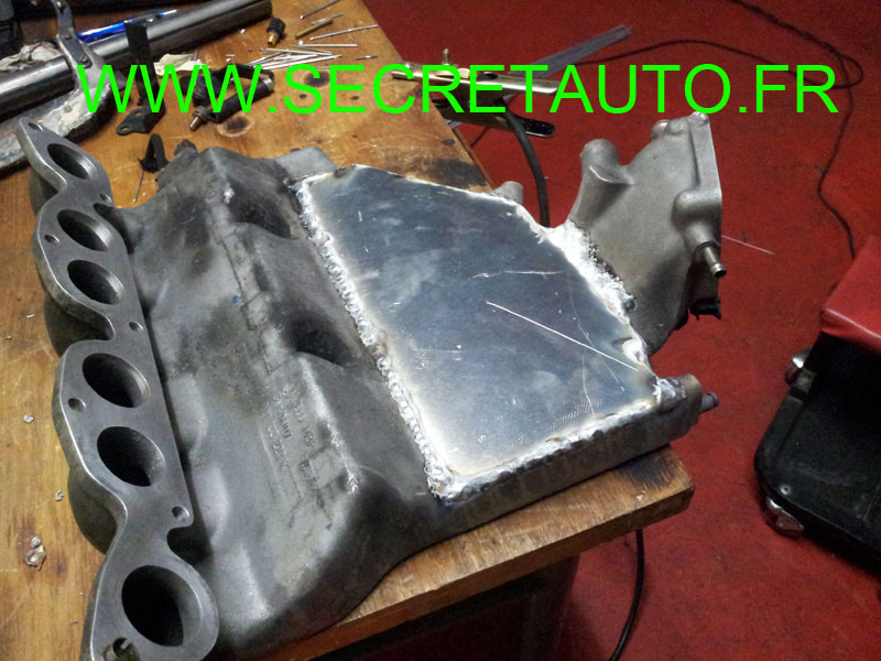 soudure plenum vw vr6 2L8