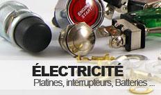 Catégorie électricité pour véhicule