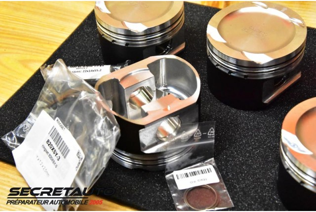 Unboxing kit pistons forgés Wossner Fiat Coupé 2.0 Turbo 5 cylindres